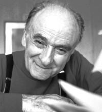 Il poeta Andrea Zanzotto